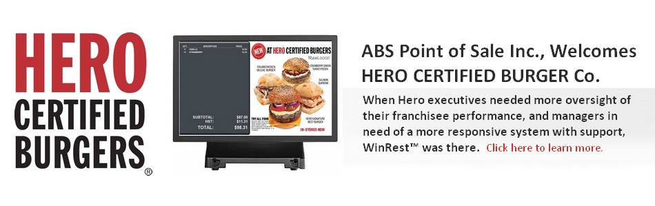 ABS SRM / MEV certified restaurant pos software by the Revenue of Quebec